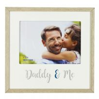 "MDF 7"" x 5"" Photo Frame - Daddy & Me"